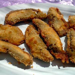 porcini impanati e fritti senza glutine