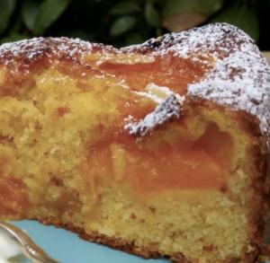 torta albicocche frullate